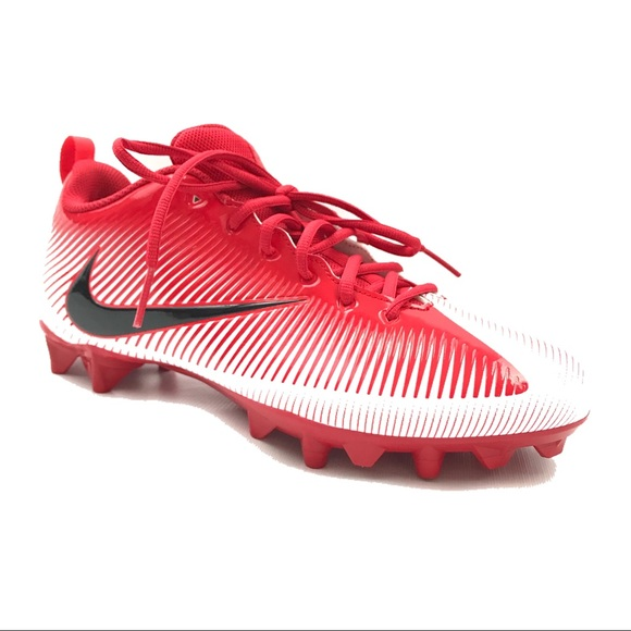 Nike Size 12 Mens Football Cleats VPR Red New